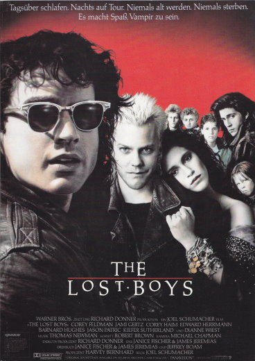 The Lost Boys - German pressbook