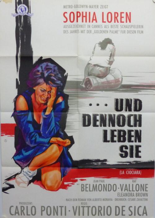 ...und dennoch leben Sie (Din A1 Plakat/ Original German One Sheet)