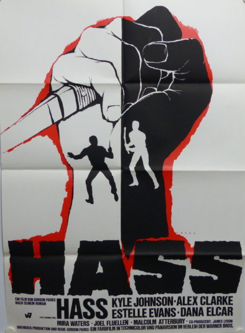 Hass (Din A1 Plakat/ Original German One Sheet)