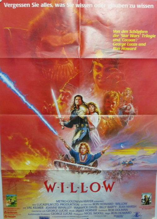 Willow (Din A1 Plakat/ Original German One Sheet)