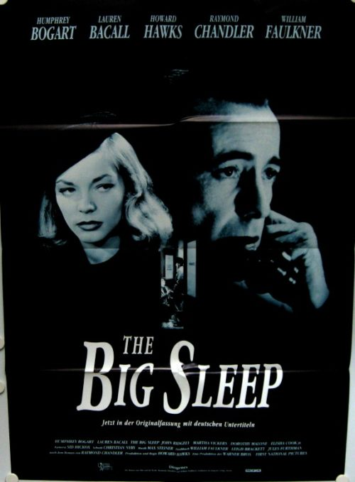 The Big Sleep (Din A1 Plakat/ German One Sheet)