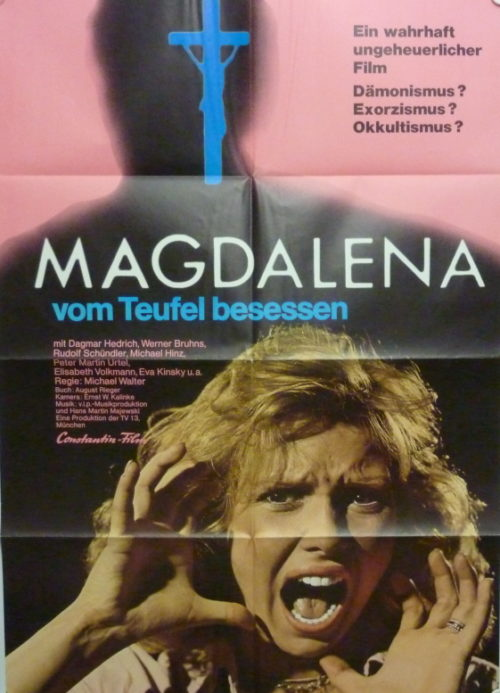 Magdalena, Possessed by the Devil (Germ. 1sheet)