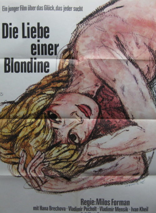 Die Liebe einer Blondine