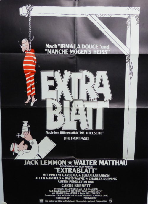 Extrablatt (Din A1 Plakat/ Original German One Sheet)
