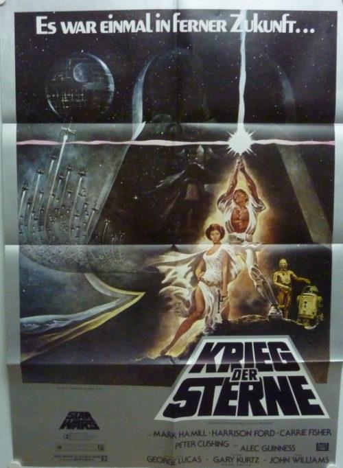 Krieg der Sterne (Star Wars) Din A1 Plakat/ German One Sheet