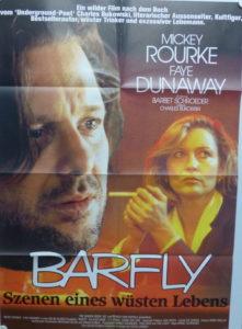 Barfly (Mickey Rourke) orig. German One-Sheet