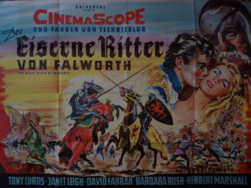Der eiserne Ritter von Falsworth (Din A0 Plakat/ German 2 Sheet)