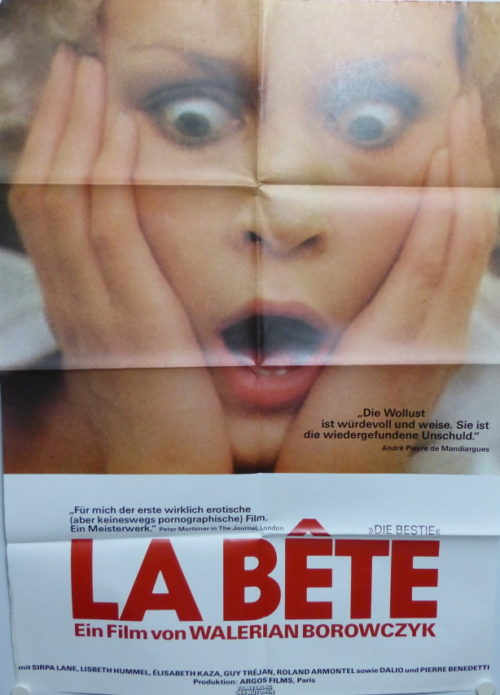 Das Biest- La Bete (Din A1 Plakat/ Original German One Sheet)
