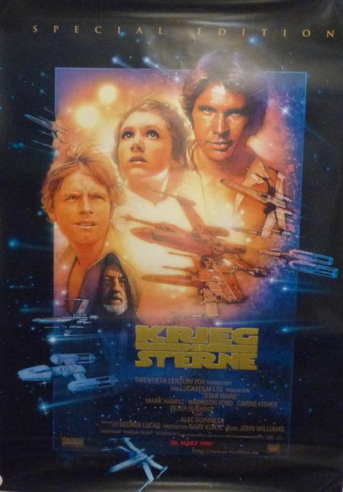 Krieg der Sterne- STAR WARS- Original Din A1 Plakat (Special Edition)