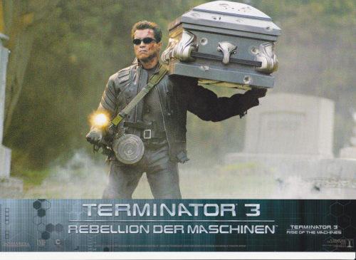 Terminator 3- 8 Aushangfotos