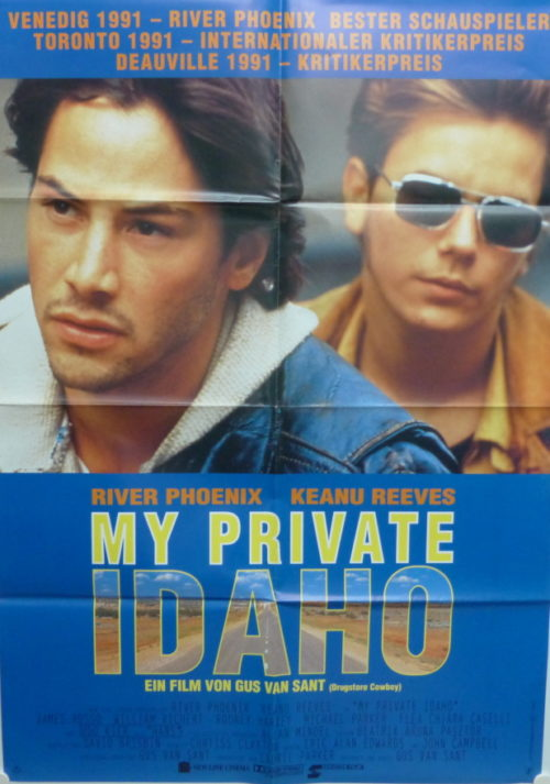 My Private Idaho (Din A1 Plakat/ Original German One Sheet)