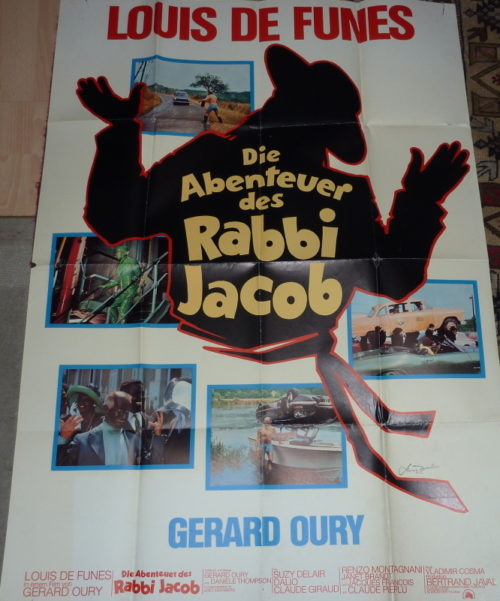 Les aventures de Rabbi Jacob (Germ. 2sheet)