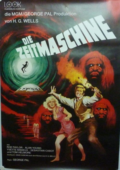 Die Zeitmaschine (din A1 Plakat/ German One Sheet)
