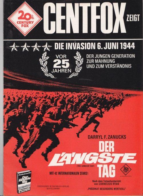 Der längste Tag (Original Werberatschlag/ Original Movie Advertising)