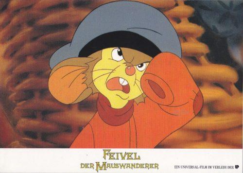 Feivel der Mauswanderer (16 Aushangfotos/ 16 Lobbycards)