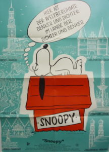 Snoopy (Din A1 Plakat/ German One Sheet)