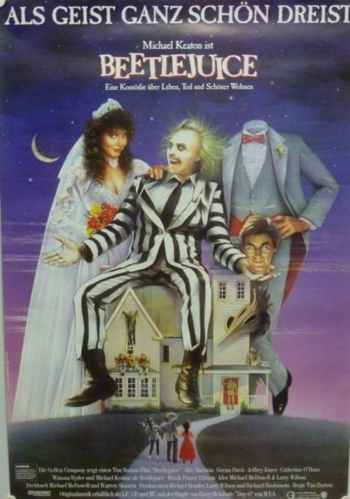Beetlejuice (Din A1 Plakat/ Original German One Sheet)