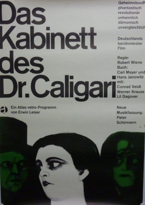 Das Kabinett des Dr. Caligari (Din A1 Plakat/ German One Sheet)