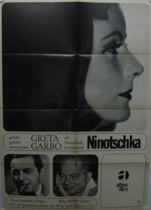 Ninotschka (Din A1 Plakat/ German One Sheet)