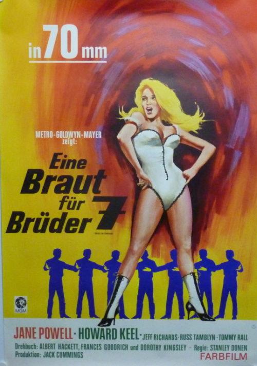 Eine Braut für sieben Brüder (Din A1 Plakat/ German One Sheet)