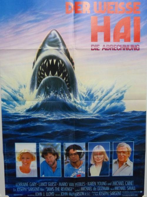 Der Weisse Hai IV- Die Abrechnung (Din A1 Plakat/ Original German One Sheet)