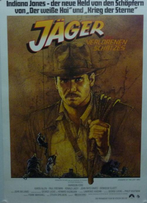 Jäger des verlorenen Schatzes (Din A1 Plakat/ German One Sheet) Motiv A