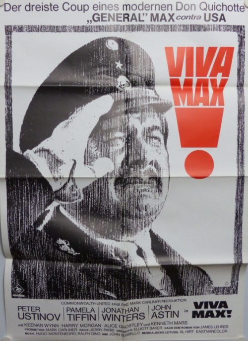 VIVA MAX! (Din A1 Plakat/ Original German One Sheet)