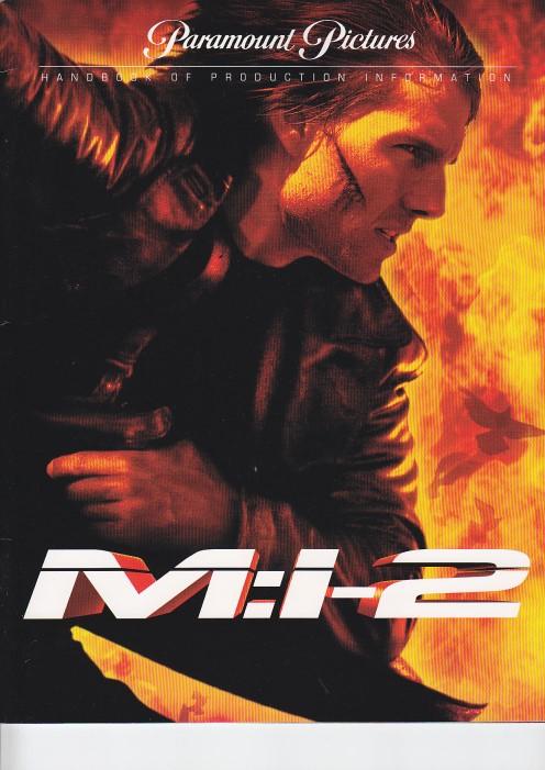 Mission Impossible II (Pressemappe/ Presskit)