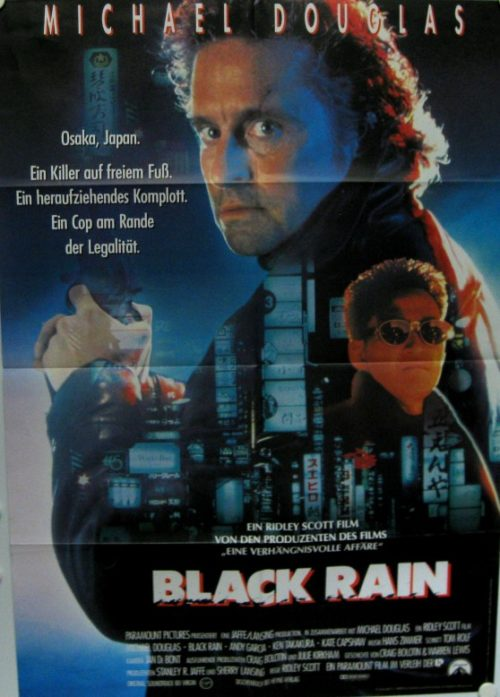 Black Rain (Din A1 Plakat/ One sheet)