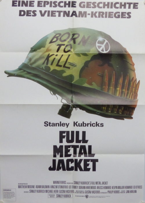 Full Metal Jacket (Din A1 Plakat/ Original German One Sheet)
