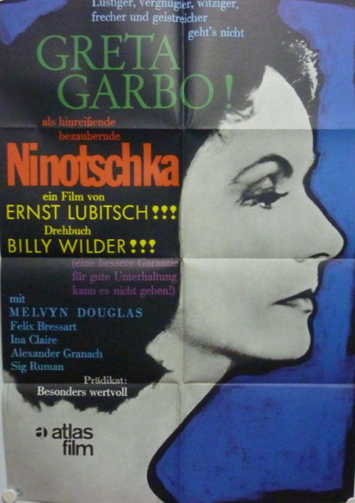 Ninotschka (Din A1 Plakat/ Original German One Sheet)