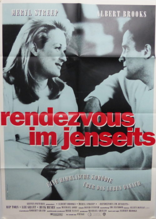Rendezvous im Jenseits (Din A1 Plakat/ Original German One Sheet)