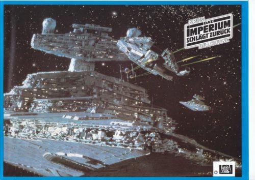 Das Imperium schlägt zurück (16 Aushangfotos/ 16 original german lobbycards)
