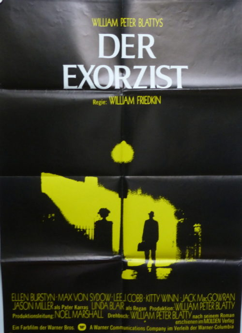 Der Exorzist (Din A1 Plakat/ Original German One Sheet)