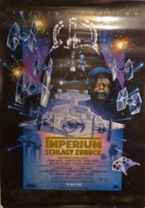 Das Imperium schlägt zurück (Original Din A1 Plakat)