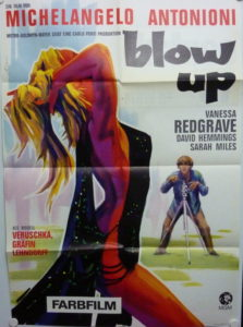 Blow Up (Din A1 Plakat/ German One Sheet)