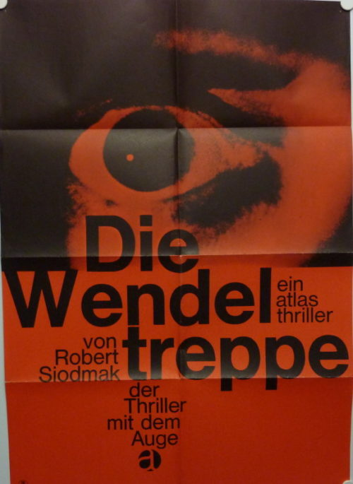 Die Wendeltreppe (Din A1 Plakat/ German One Sheet)