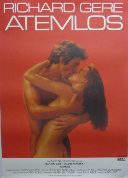 Atemlos (Din A1 Plakat/ German One Sheet)