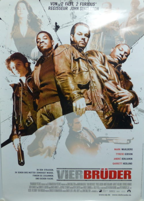 Vier Brüder (Din A1 Plakat/ Original German One Sheet)