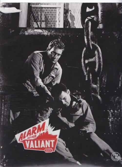 Alarm auf der Valiant (1962)  2 Aushangfotos