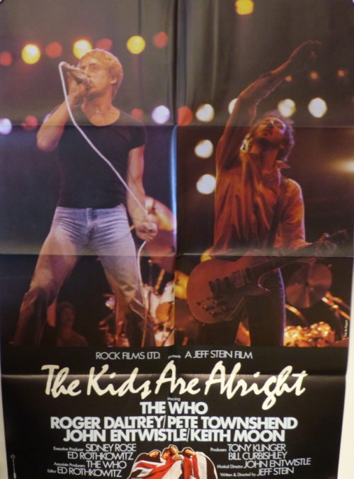 The Kids Are Alright (Original Din A1 Plakat) THE WHO