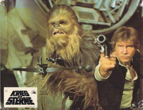 Krieg der Sterne (Star Wars) – Original Fotosatz 1977 EA