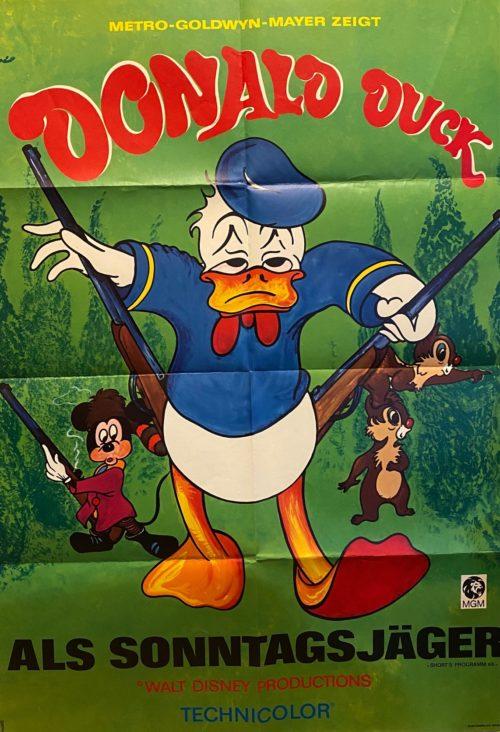 Donald Duck als Sonntagsjäger
